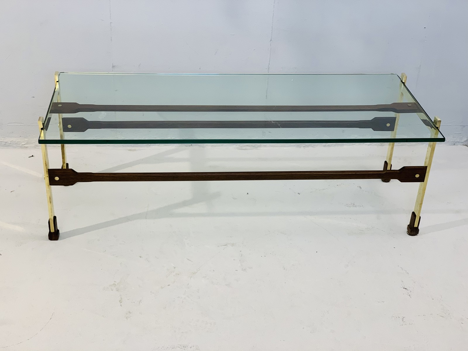 Brass Coffee Table With Glass Top Galerie Watteeu Recent Added Items European Antiques Decorative