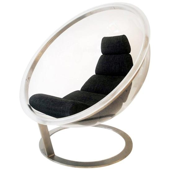Bubble Chair by Christian Daninos, 1968 Edition Laroche