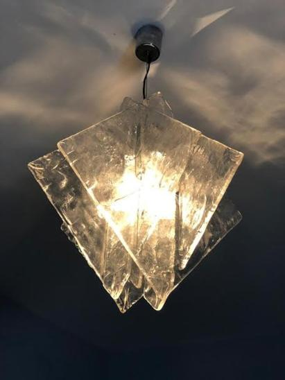 Hanging lamp Murano glass by Carlo nason