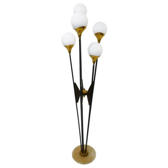 Italian Floor Lamp by Stilnovo, 1960s