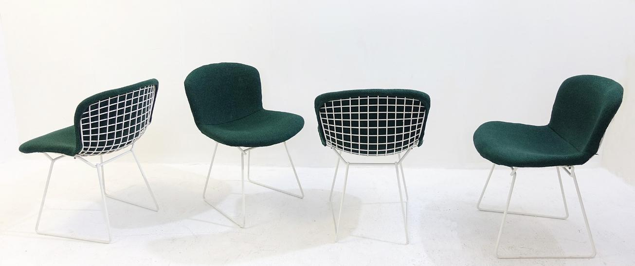 Set Of Four Chairs By Harry Bertoïa For Knoll, 1970'S